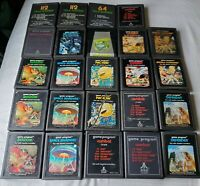 24 Atari 2600 Game Lot Game Collection Combat Berzerk Asteroids Defender Frogger
