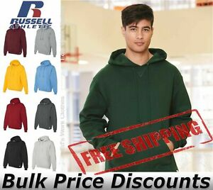 Russell Athletic 695HBM1 Men's Dri Power Hoodies Assorted Colors NEW