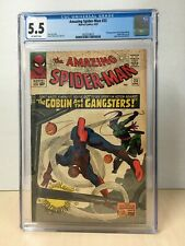 Amazing Spider-Man #23 (1965) CGC 5.5 3rd Green Goblin Off-White Pages