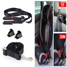 Car Seat Toptether+Bottom ISOFIX LATCH Belt Connector Interface Connection Tape
