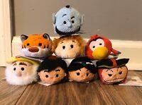 Disney Parks Authentic Tsum Tsum *ALADDIN* Complete Set of Original 8 - NWT!!!
