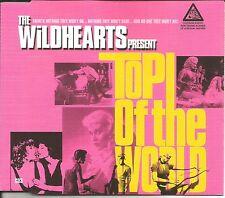 THE WILDHEARTS Top of World/ Cheers/ LTD 3TRX Europe CD single USA SELLER SEALED