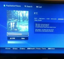 y Play Station 4 PS4l 500GB  Demo P.T silent hills