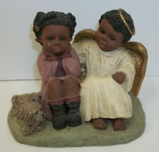 Martha Holcombe African American All God's Children Figurine Michael & Kim #353