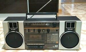 Sharp GF A1 H(BR)  Ghetto Blaster Radio Recorder boombox