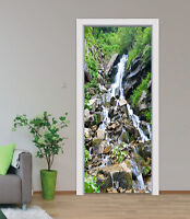 3D River stone art Door Wall Mural Photo Wall Sticker Decal Wall AJ WALLPAPER US