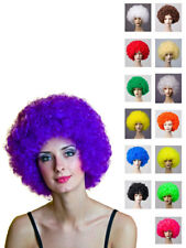 Perücke Afro Gelockt Karneval Fasching Haare Clown