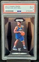 2017 Prizm Utah Jazz Star DONOVAN MITCHELL Rookie Basketball Card PSA 9 MINT