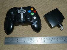 MICROSOFT XBOX ORIGINAL WIRELESS CONTROLLER in Black Cordless Game Control Pad
