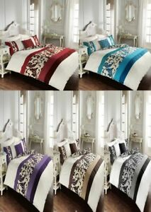 Unique Scroll Duvet Cover Set With Pillow Cases All Sizes
