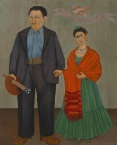 Print -    Frieda and Diego Rivera, 1931 by Frida Kahlo