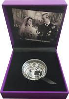 New Zealand- 2017 - Silver $1 Proof Coin- 1 OZ Platinum Queen's Wedding