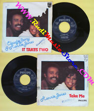 LP 45 7'' CLAUDJA BARRY & RONNIE JONES It takes two Take me 1977 no cd mc dvd *