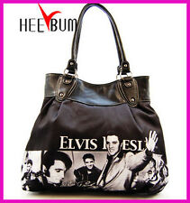 Elvis Presley Shoulder Handbag Women's Designer Fashion Tote Bag Purse
