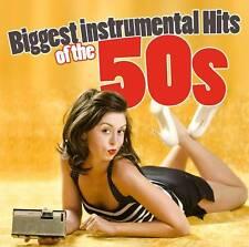 CD Biggest INSTRUMENTAL HITS OF THE 50s de Various Artistas 3cds