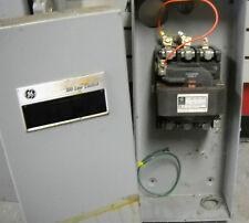 GE CONTACTOR  #CR353GJ3AA1  120AMP  120V CONTROLL   NEMA 1 INCL