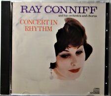 CD Ray Conniff Concert in Rhythm My Reverie Schubert's Serenade Rhapsody in Blue
