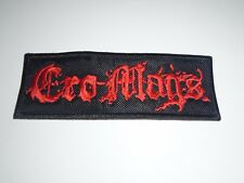 CRO-MAGS EMBROIDERED PATCH