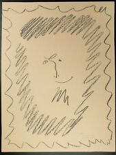 Pablo Picasso, Pencil Drawing 1956 Lithograph, Hand Signed Lithograph