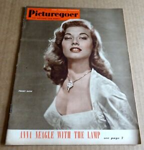 VINTAGE BACK ISSUE PICTUREGOER MAGAZINE APRIL 21st 1951 PEGGY DOW COVER