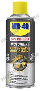 WD-40 Kettenwachs Special Motorbike Serie 400ml Kette Spray Fett Motorrad 56339