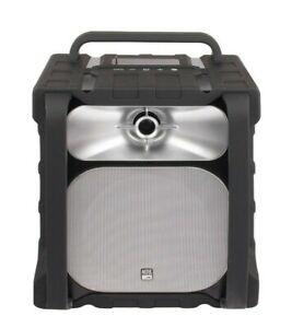 Altec Lansing Sonic Boom Portable Powered/Bluetooth Jobsite Speaker Model IMT802