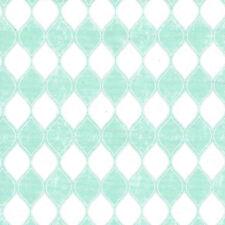 TEAL Blue Green Art Deco Leaf Geometric Vinyl Contact Paper Drawer Peel Stick