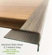 High Quality Aluminium Stair Nose/Timber /Bamboo /Laminate Flooring Accessories