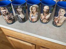 WWE Summerslam Big Gulp 7-11 Plastic Cups Wrestling Triple H