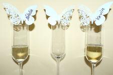 Namensschild Platzkarten Schmetterling Taufe Event Party Hochzeit Dekoration Neu