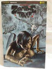 ZOMBIE TRAMP ORIGINS #4 AOD COLLECTABLES EXCLUSIVE BLACK FOIL VARIANT COVER 2017