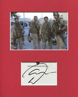 Marcus Luttrell Navy Seal Lone Survivor Rare Signed Autograph Photo Display