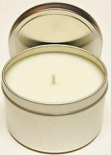 100% Natural Soy Wax Tin - 8 oz (U Pick Fragrance)
