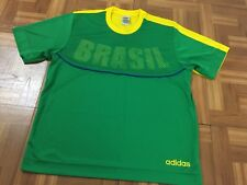 Adidas 2006 Fifa World Cup Germany Football Soccer Brazil Jersey Shirt Size L