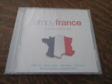 cd album simply france essential french music