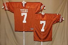 TEXAS LONGHORNS   Nike  #7   FOOTBALL JERSEY    XL    NWT   or   $60 retail