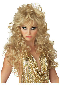NEW IN A BAG California Costumes Seduction Wig Blonde # 70426