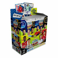 2020-21 TOPPS MATCH ATTAX EXTRA CHAMPIONS LEAGUE CARDS BOX 36 PACKS (252 CARDS)