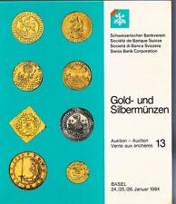 GOLD-UND SILBERMUNZEN 1983 SCHWEIZERISCHER BANKVEREIN TESTO IN TEDESCO (SA269)