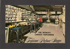 POSTCARD:  TROPICANA PERFUME SHOPPE - ST. THOMAS, VIRGIN ISLANDS - Unused, c1970