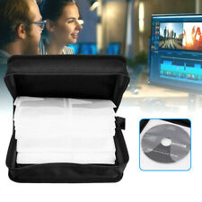 More details for 360pcs cd dvd disc carry case holder protector storage bag wallet binder sleeve
