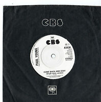 """Paul Young - Come Back And Stay 7"""" Single 1983"""