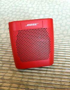 BOSE BLUETOOTH WIRELESS SPEAKER - RED - MODEL 415859.