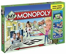 MY MONOPOLY Make your own board game customize stickers trading property NEW