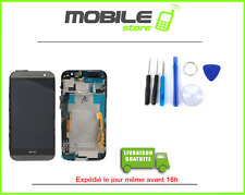 TACTILE + LCD + CHASSIS pour HTC ONE M8 GRIS ET NOIR + OUTILS