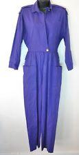 Vintage Barbara Cotton Jumpsuit Purple size 4