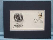 Seeing Eye Dogs Association & First Day Cover of its 50th Anniversary stamp