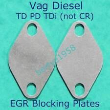 EGR blanking plate 3mm Steel VW TDi SEATTDi SKODA TDi AUDI TDi 2off T4 T5 T25