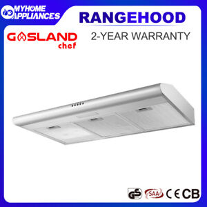 GASLAND chef Fixed Range Hood Stainless Steel 90cm Kitchen Canopy Rangehood 900m