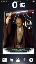 Topps Star Wars Digital Card Trader Galactic Files AOTC Mace Windu Insert Award